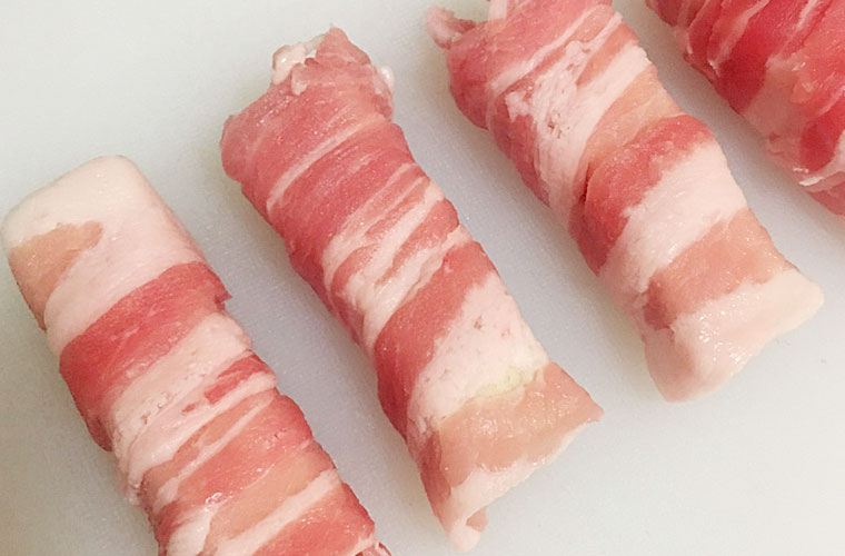 高野豆腐の肉巻きの作り方